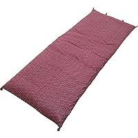 高岡 ごろ寝布団 普通サイズ 65×165cm あられ紫/蘇芳