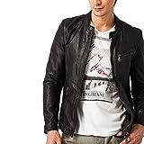 (リューグーレザーズ) Liugoo Leathers ライダースジャケット ヴィンテージシングルライダースジャケット  Mサイズ ブラウン