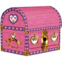 Beistle 50369 4-Pack Princess Treasure Chests, 3-1/2-Inch by 41/4-Inch [並行輸入品]