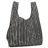 マリメッコ バッグ レディース MARIMEKKO 043443 022 SMARTBAG PICCOLO スマートバッグ 折りたたみ トートバッグ BLACK/WHITE [並行輸入品]