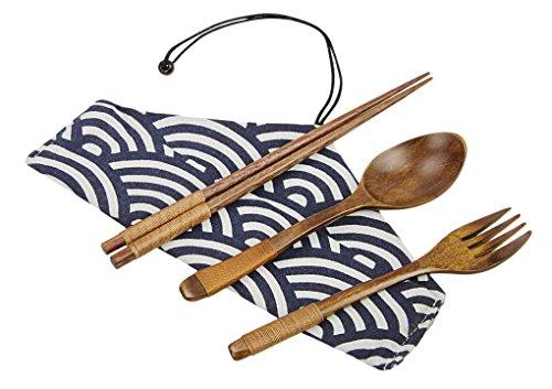 木製 食器 4点セット 箸 スプーン フォーク 食器棚 シン...