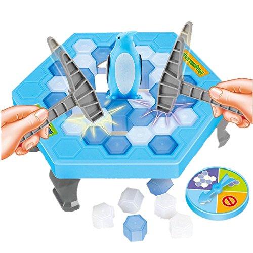 氷ブロックBreakingゲーム保存ペンギンテーブルゲームパズル、子供ペンギントラップテーブルゲームボードゲーム–Interactiveデスクトップパーティーゲーム