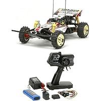 【セット商品】 タミヤ 1/10 電動RCカーシリーズ No.517 スーパーホットショット 2012 + ファインスペック 2.4G 電動RCドライブセット