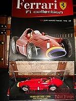 フェラーリd501956F1コレクションFangioモデル+ボックス+ Fas。Fabbri Die Cast 1: 43