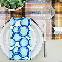 artzfolio Soap Bubbles 1テーブルナプキンサテン生地 20inch x 20inch; SINGLE PIECE AZKIT32717424NAP_TB_L_02-S1_SN