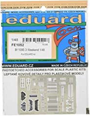 エデュアルド 1/48 ズームエッチングパーツ メッサーシュミットBf109E-3 (エデュアルド用) プラモデル用パーツ EDUFE1052