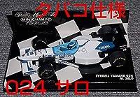 タバコ仕様 1/43 ティレル ヤマハ024 サロ 1996 TYRRELL YAMAHA