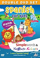 Spanish for Kids DVD Set: Simple Words & Number and Colours (Spanish and English) (English and Spanish Edition) [並行輸入品]