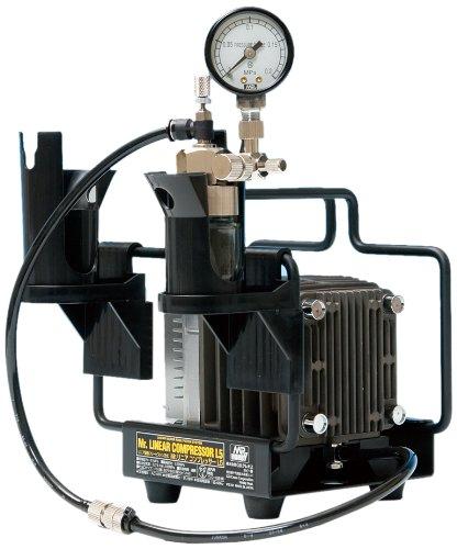 GSIクレオス Mr.リニアコンプレッサー L5/圧力計付レギュレーター PS313