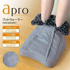 apro(アプロ) 足首の上まですっぽり入るフットウォーマー KWS-M202GY