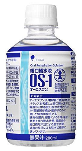 大塚製薬工場 経口補水液 オーエスワン 280mL丸PETx24本(ケース)