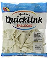"""Pioneer Balloon 50 Count Pearl Quick Link Latex Balloons, 12"""", White [並行輸入品]"""