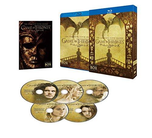 ゲーム・オブ・スローンズ 第五章: 竜との舞踏 ブルーレイ コンプリート・ボックス (5枚組) [Blu-ray]の詳細を見る
