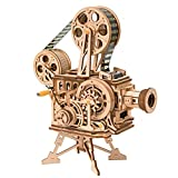 OYOY ハンドクランク DIY 3D フリム プロジェクター 木製パズル ゲーム 組み立て おもちゃ 子供 大人 ギフト