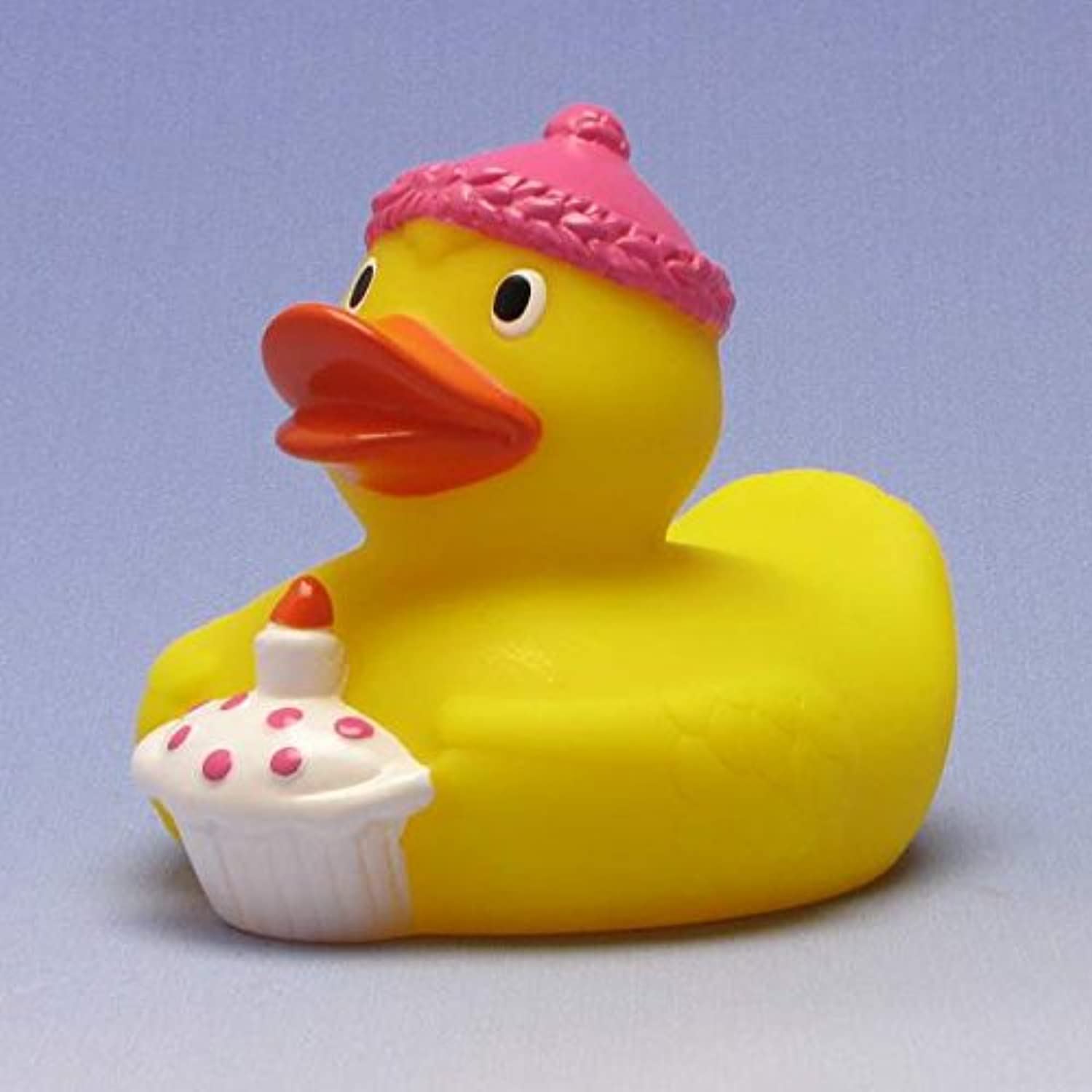 Happy Birthday Rubber Duck King pinkゴム製のアヒル …