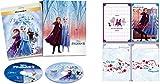 【Amazon.co.jp限定】アナと雪の女王2 MovieNEX コンプリート・ケース付き(オリジナルWポケットクリアファイル付き) [ブルーレイ+DVD+デジタルコピー+MovieNEXワールド] [Blu-ray]