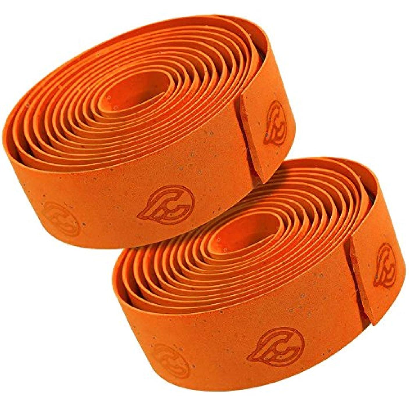 傷つける配送接触cinelli(チネリ) バーテープ コルクリボン  オレンジ 607014-000005