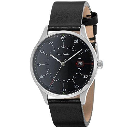 ポールスミス PAUL SMITH 腕時計 P10071 GAUGE メンズ レザーベルト [並行輸入品]