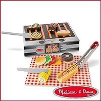 Melissa&Doug メリッサ&ダグ グリル&サーブ BBQセット