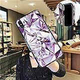 適用するiPhone 8 Plus 5.5インチケース、iPhone 7 Plusスリムケース、SevenPandaキラキラシーシェル模様ハードハードソフトTPUバンパー保護ケース対応iPhone 7 Plus / 8 Plus 5.5インチ - ブラックカラフルなグリッドオーロラダイヤモンド纹ケース