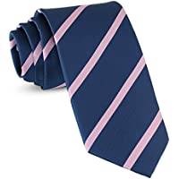 Handmade Striped Ties For Men Woven Slim Mens Ties Stripes Tie: Thin Necktie, Stylish Neckties For Every Outfit