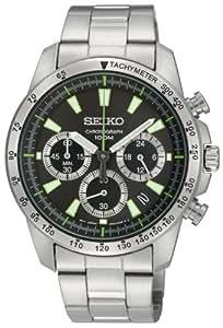 [セイコー]SEIKO 腕時計 クロノグラフ 逆輸入 海外モデル SSB027PC メンズ 【逆輸入品】