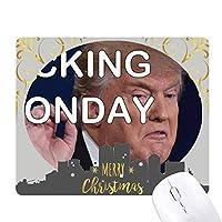 アメリカの切り札大統領のおもしろ画像 クリスマスイブのゴムマウスパッド
