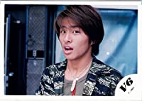 V6・【公式写真】・三宅健・JCロゴ・ジャニーズ 公式生写真【スリーブ付 】me 11