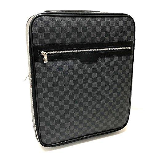 (ルイ・ヴィトン)LOUIS VUITTON N23302 ペガス45 ダミエ・グラフィット スーツケース メンズ レディース キャリーバッグ ダミエグラフィットキャンバス レディース 中古