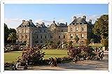 リュクサンブール宮殿、パリの人々の観光スポット47882のティンサイン 金属看板 ポスター / Tin Sign Metal Poster of Luxembourg Palace Paris People Sights 47882