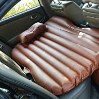 GYP パッド車のベッドをスリーピングカークッションベッド車のドライブアウトドアキャンプカーSUVリアシートベッドシートベッドカートラベルベッド車のアダルト ( 色 : ブラウン ぶらうん )