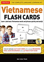 Vietnamese Flash Cards Kit: The Complete Language Learning Kit (200 hole-punched cards, CD with Audio recordings, 32-page Study Guide)