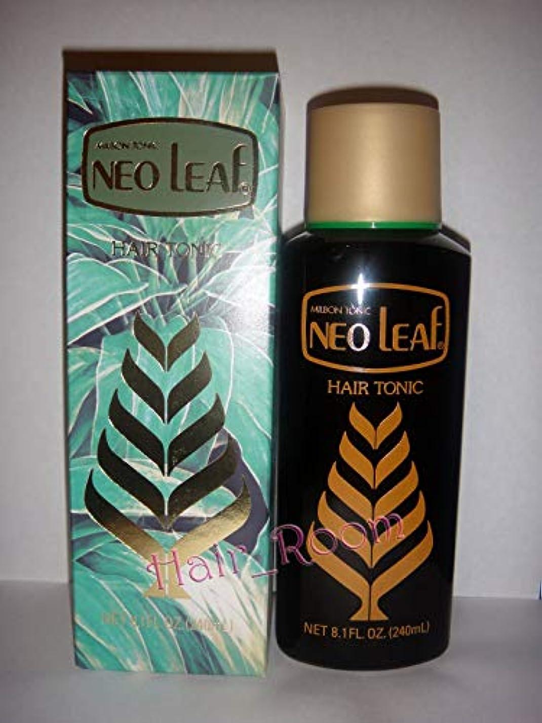 液体起こる機会Neo Leaf ミルボントニックヘアトニック240ミリリットル日本 - ハーブ抽出成分が毛根に栄養を与えます