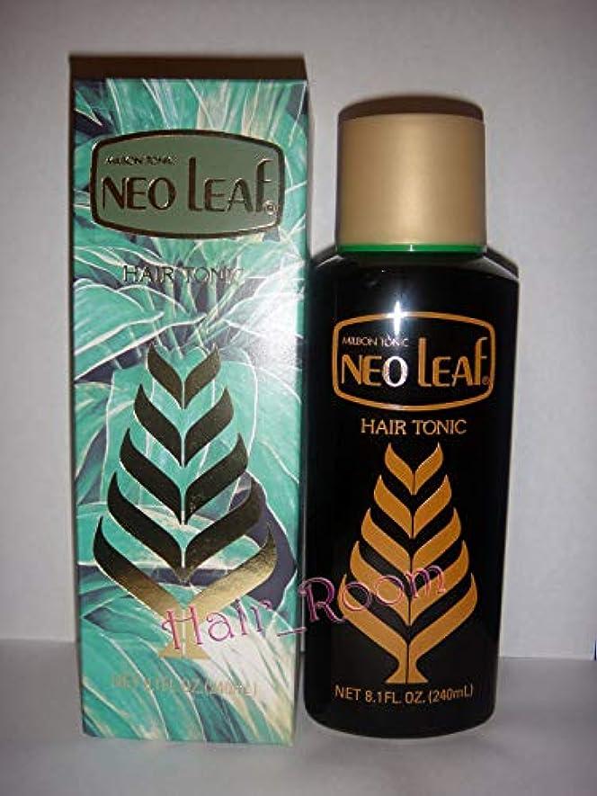 後微生物腐ったNeo Leaf ミルボントニックヘアトニック240ミリリットル日本 - ハーブ抽出成分が毛根に栄養を与えます