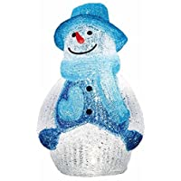 クリスマス  3Dイルミネーション LEDビックスノーマン ブルー