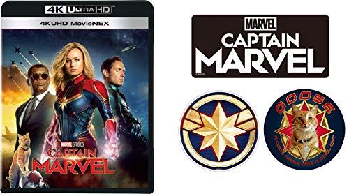 【Amazon.co.jp限定】キャプテン・マーベル 4K UHD MovieNEX(オリジナルステッカー3枚セット付き) [4K ULTRA HD+3D+ブルーレイ+デジタルコピー+MovieNEXワールド] [Blu-ray]