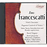 Francescatti Plays Favorite Violin Pieces
