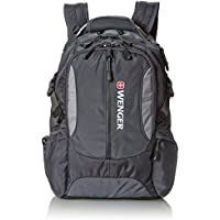 Wenger Computer Backpack with Padded Sleeve for Laptops (SA1537) Gray