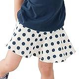 KIDSMIO(キッズミオ) フレアスカート インナーパンツ付き スカッツ ポケット付き 1分丈100サイズ グレー