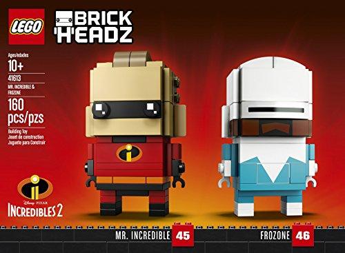 【Amazon.co.jp限定】レゴ(LEGO)ブリックヘッズ Mr. インクレディブル&フロゾン 41613