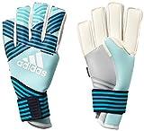 adidas(アディダス) サッカー ゴールキーパーグローブ ACE TRANS フィンガーセーブ プロ エナジーアクアF17/エナジーブルー S17/レジェンドインクF17/トレースブルーF17(BS4102) DKM97 7