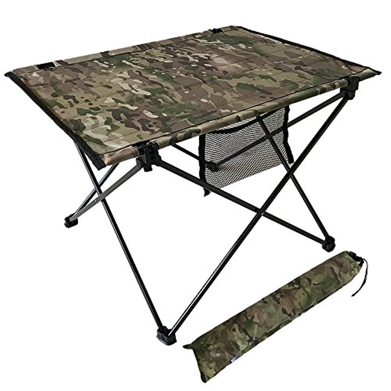 続ける好奇心枯れるcravate アウトドアテーブル キャンプテーブル 折りたたみ コンパクト 軽量 耐荷重20KG