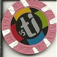 $ 5 Treasure Islandラスベガスカジノチップ