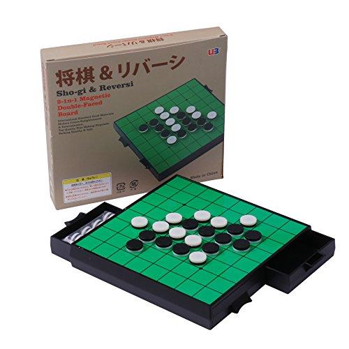 おもちゃの神様 将棋 & リバーシ 2 in 1 引き出し 収納 25×22.3×2.8 cm