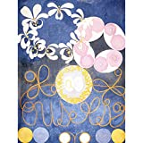HILMA AF KLINT ABSTRACT FLOWERS SWIRLS PAINTING ART PRINT POSTER PICTURE 抽象花ペイントアートプリントポスター画像