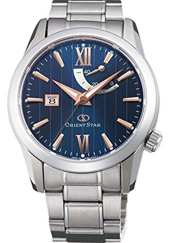 [オリエント時計] 腕時計 オリエントスター スタンダード 機械式 自動巻(手巻付) ブルー WZ0351EL シルバー