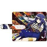 ハクバ キャラモード マギアレコード 魔法少女まどか☆マギカ外伝 七海 やちよ 手帳型マルチスマートフォンケース カード収納 iPhone & Android 両対応 スマホカバー ケース PA-SPC7491