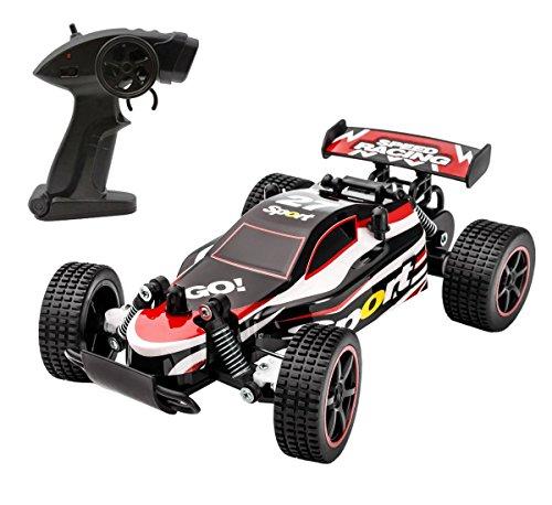 ラジコンカー IRUIS RCカー 2.4GHz無線操作リモコンカー 1/20 高速車オフロード バ...