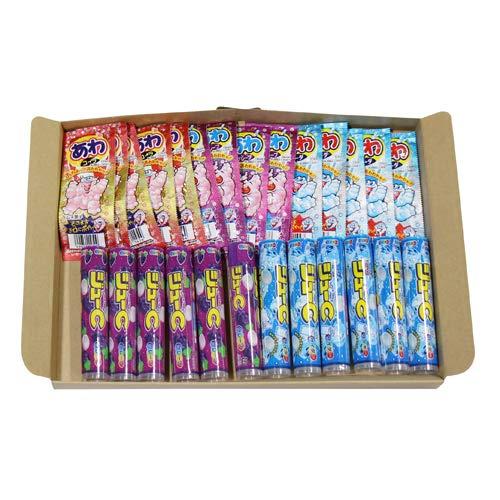 おかしのマーチ カバヤ・コリス ラムネ菓子セット ジューC2種(各6コ・計12コ)& あわラムネ3種(各5コ・計15コ)