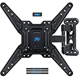 Mounting Dream Full Motion TV Wall Mounts Bracket with Perfect Center Design for 26-55 Inch LED, LCD, OLED Flat Screen TV, Mount with Swivel Articulating Arm, up to VESA 400x400mm MD2413-MX